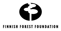 The Finnish Forest Foundation logo. Hyperlink goes to the foundations home page